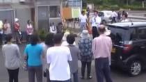 愛知治郎 2013参議院選挙 街頭演説:7月14日@岩沼市 里の杜 仮設住宅前
